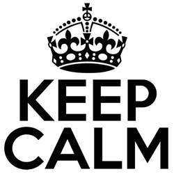 keep calm k type