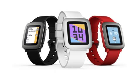 Smartwatch Pebble get the pebble time smartwatch for 20 percent