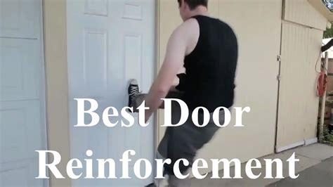 front door frame reinforcement spectacular results