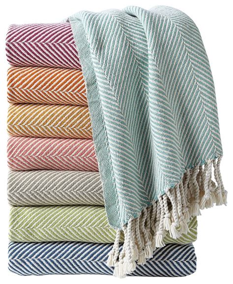 Bedroom Hanging Lights herringbone throw contemporary throws by serena amp lily