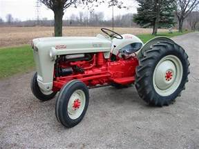 1953 ford jubilee golden anniversary tractors