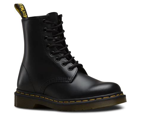 Dr Martens Made In dr martens 1460 made in 8 eye smooth leather boots