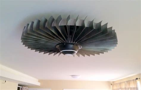 cool looking ceiling fans jet engine ceiling fan keeps the heat down while looking