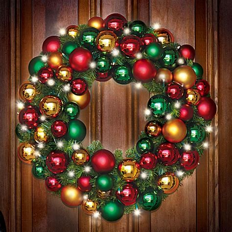 Awesome Battery Operated Pre Lit Christmas Wreaths #5: 83256_1000x1000.jpg