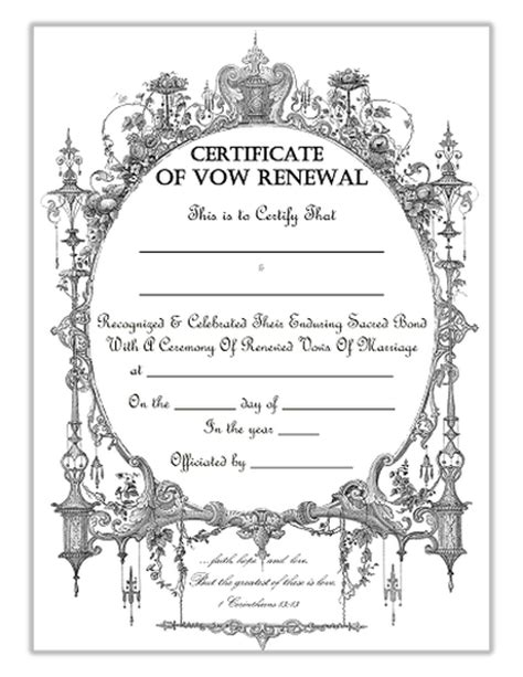vow card template free graphics and printables trulytruly net