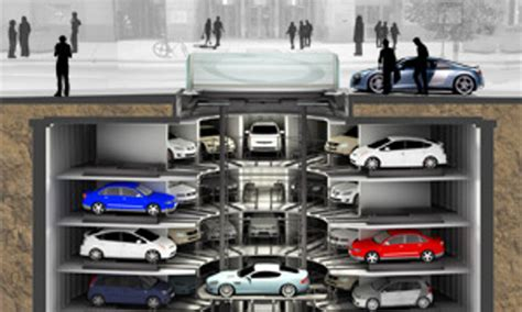 How Do Parking Garages Work by How Automated Parking Systems Work Autoevolution