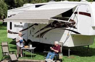 rv retractable awnings retractable awnings provide rv owners with attractive