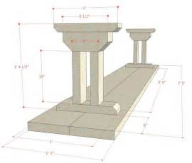 Dining Room Table Bench Dimensions Remodelaholic Rustic X Dining Table And Bench Building Plan