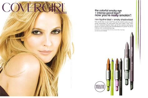Drew Barrymore Signs With Covergirl Cosmetics by Drew Barrymore Endorsements