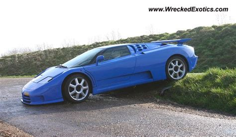 bugatti eb110 crash bugatti eb110 wrecked unknown