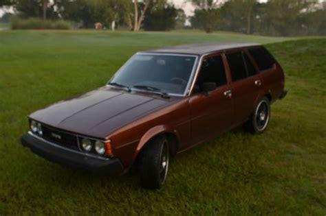 1980 Toyota Corolla Wagon Sell Used 1980 Toyota Corolla Dlx Wagon Auto Cold Ac