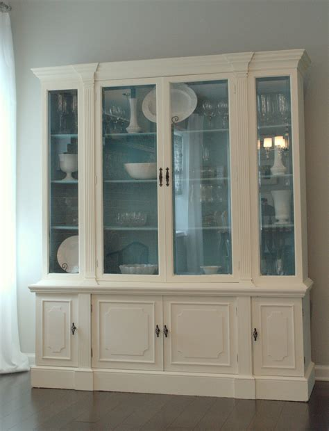 China Kitchen Cabinets Newlywed Nesters Sloan Chalk Paint China Cabinet Makeover