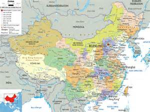 political map of detailed political map of china ezilon maps