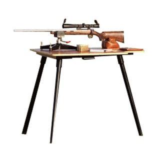 stukeys sturdy shooting bench leg caddy brownells