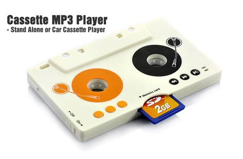 mp3 cassette adapter retro style cassette mp3 player with remote