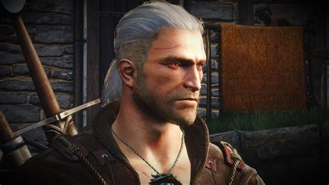 Witcher 2 Hairstyles by Abandoned The Witcher 2 Geralt Converted Read Desc