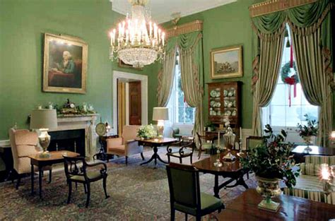 white house rooms green room of the white house the enchanted manor