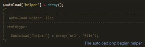codeigniter tutorial routes cara konfigurasi framework codeigniter idcloudhost