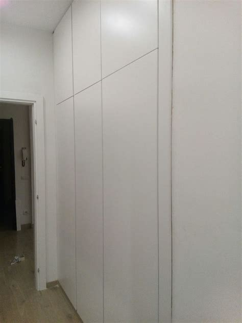 idee per armadio a muro armadio a muro a scomparsa totale idee falegnami