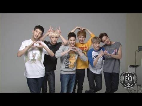 exo xoxo film exo 엑소 the 1st album quot xoxo kiss hug quot album cover mv