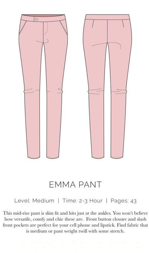 free jeans pattern sewing emma pant plana sewing woman pants jumpsuits free