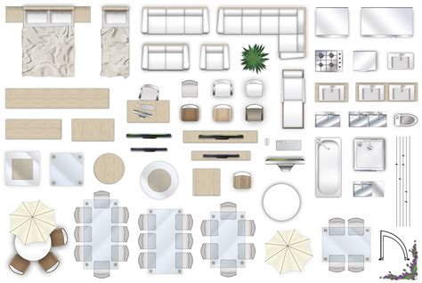 2d furniture floorplan top down view psd 3d model cgtrader 2d furniture floorplan top down view style 4 psd 3d