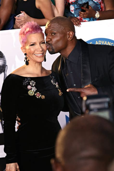 terry crews working for the weekend terry crews at naacp image awards it s robinlori now