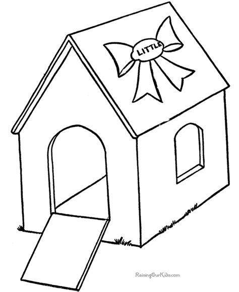 printable house for coloring house picture to color 012