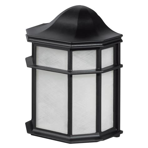 Weather Resistant Outdoor Lighting Globe Electric 1 Light Glossy Black Outdoor Weather Resistant Wall Sconce 44048 The