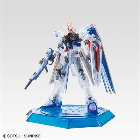 The Gundam Base Freedom Ver 2 Limited hgce 1 144 zgmf x10a freedom gundam clear ver gundam base tokyo limited release info