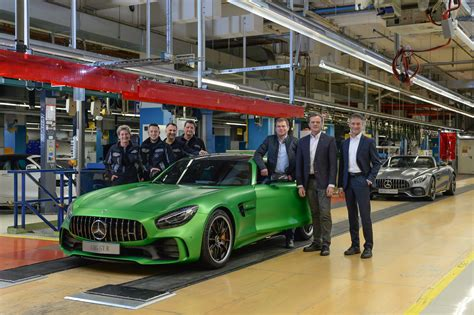 mercedes factory mercedes amg gt r enters production gt roadster joins it