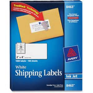 Avery Shipping Label Templates by Printable Avery Shipping Labels Images