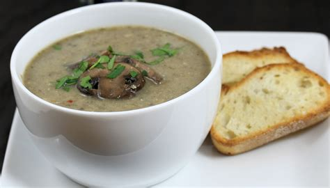 Mushroom Soup | real mushroom soup with a touch of lemon tasteinspired s