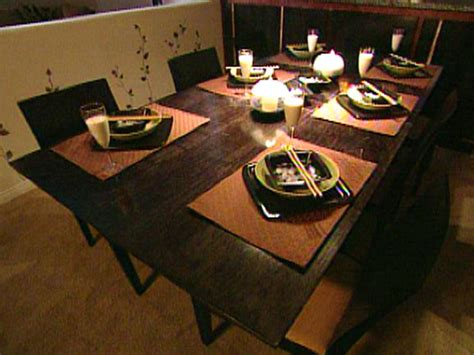 how to build a dining room table how to build an expandable dining room table hgtv