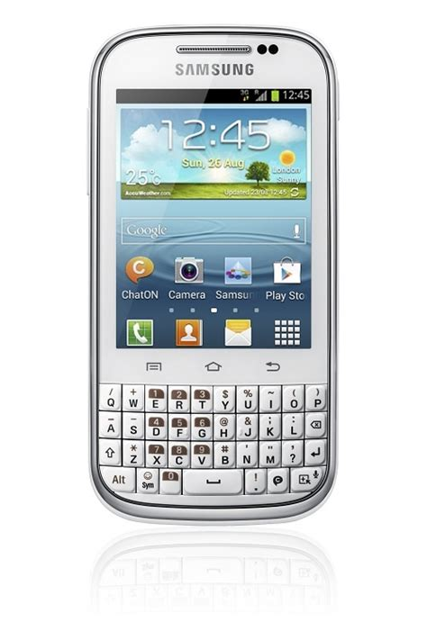 Android Keyboard Qwerty samsung galaxy chat qwerty android 4 0 smartphone unveiled