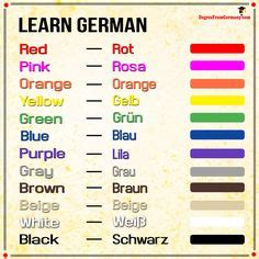 colors in different languages colours in german language via www degreefromgermany