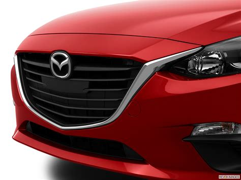 mazda 3 grill light matte grille vs black metallic finish on the grand touring