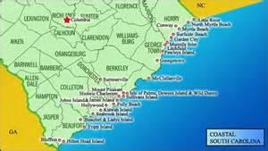 beaches carolina map map of south carolina coast south carolina i live here