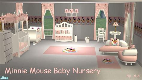 minnie mouse baby room ale0508 s minnie mouse baby nursery