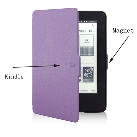 Original Flip Cover New Kindle Touch 7th Generation By original 1 1 leather cover smart for kindle