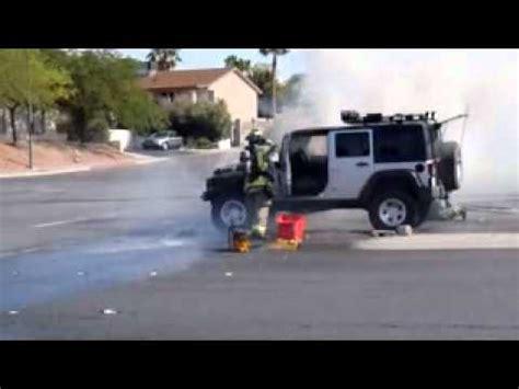 Jeep Fires 2008 Jeep Wrangler