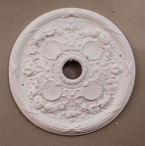 Plaster Medallions Ceiling by Cast Plaster Copies Of Period Ceiling Medallions At 1stdibs
