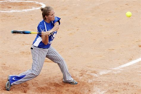 softball swing video free photo softball women batter ball hit free