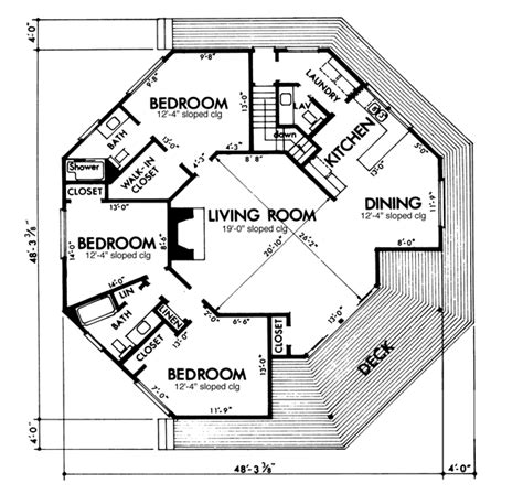 octogon house plans house plans home plans and floor plans from ultimate plans dream house pinterest