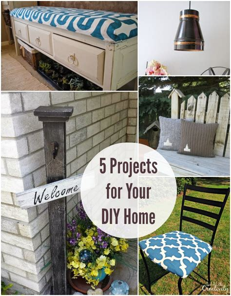 home projects 5 diy projects for your home at the project stash one