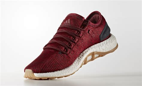 adidas pure boost burgundy gum shoe engine