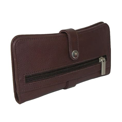 Bifold Wallet mens pebble grain leather bifold wallet by paul