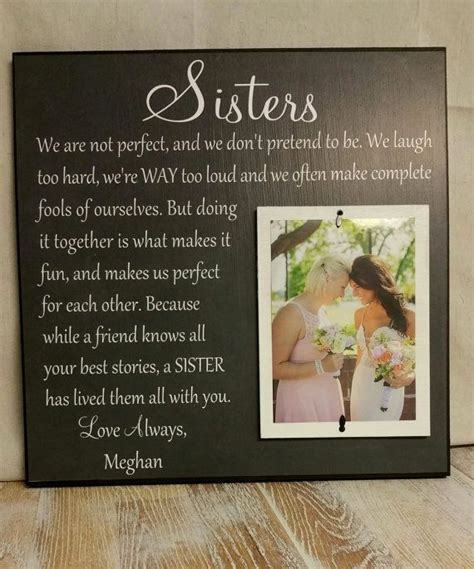 Wedding Gift, Sister Wedding Gift, Wedding Thank You Gift