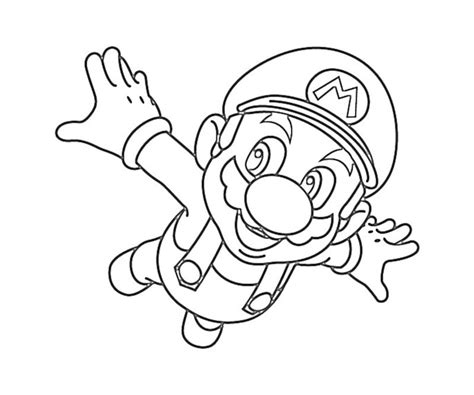 printable super mario coloring pages coloring me