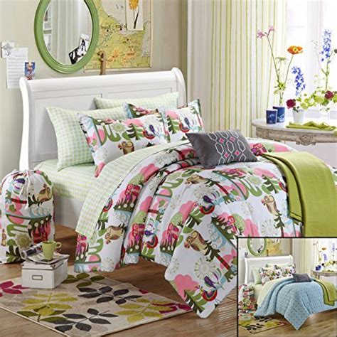 owl comforter set chic home 10 owl comforter set with shams decorative